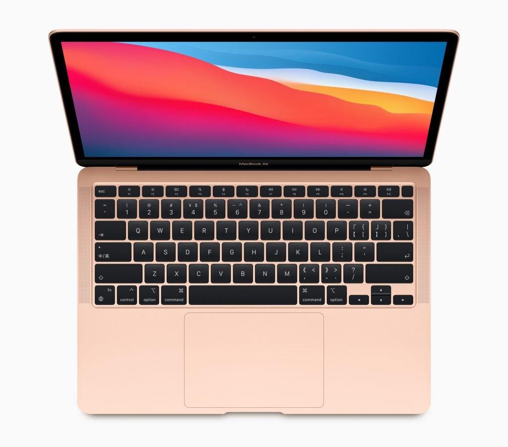macbook air con processore m1