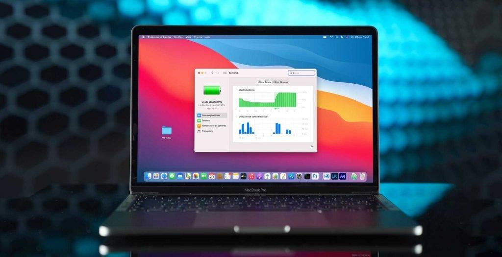 macbook pro con processore m1